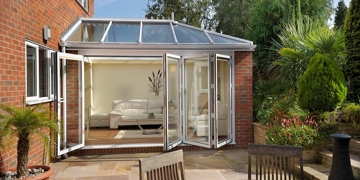 Orangery Featuring Bi-Folding Doors