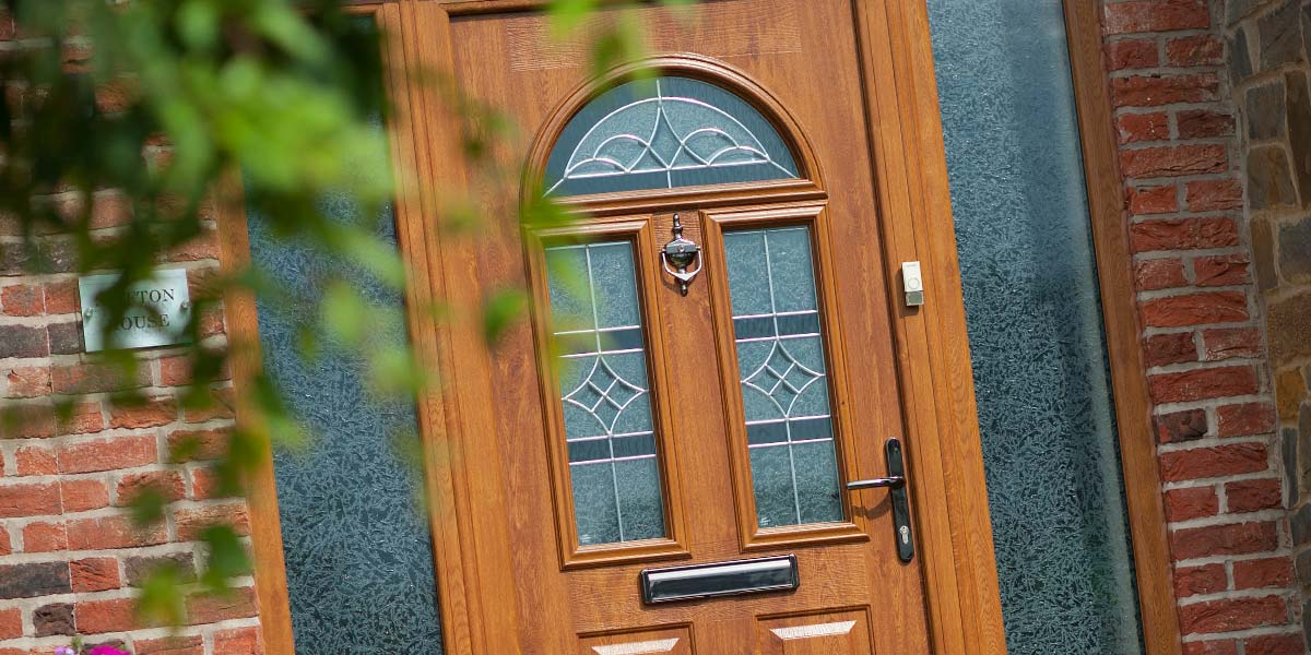 Oak Composite Door Cameo