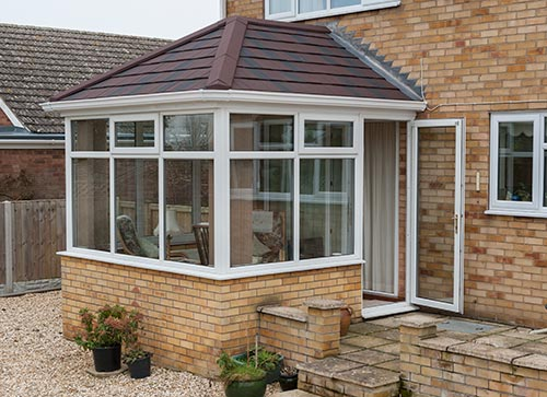 A door will become an integral part of your conservatory. & Conservatories Kent | UPVC u0026 Aluminium Conservatory | Eden ... pezcame.com