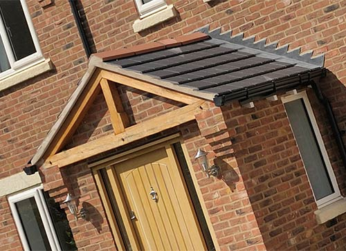 Tiled Conservatory Roof Cost >> Front Porches Kent | UPVC & Brick Porches London from Eden