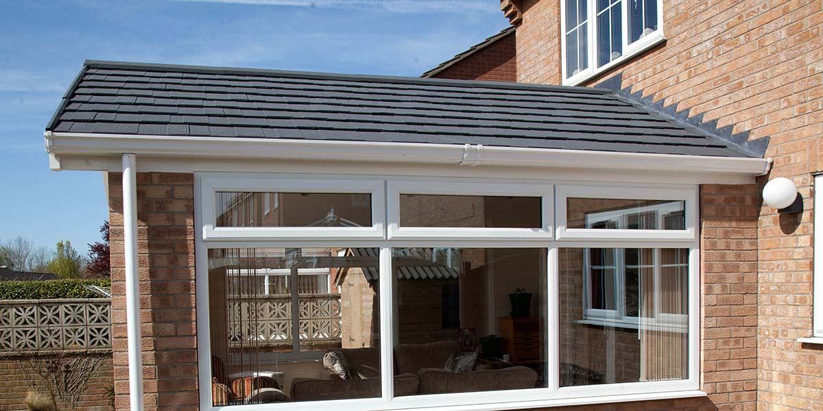 Solid Tiled Roof Orangery