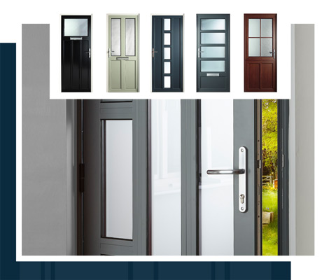 Eclipse Aluminium Entrance Doors