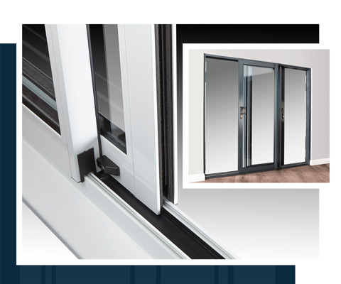 Eclipse Aluminium Patio Doors